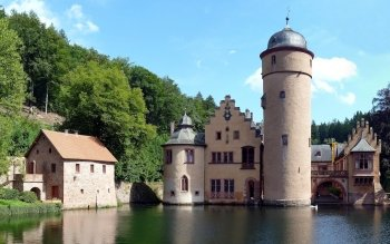 Man Made - Mespelbrunn Castle Wallpapers and Backgrounds ID : 479449