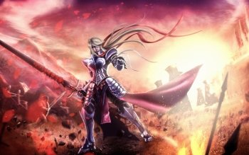 Anime - Women Warrior Wallpapers and Backgrounds