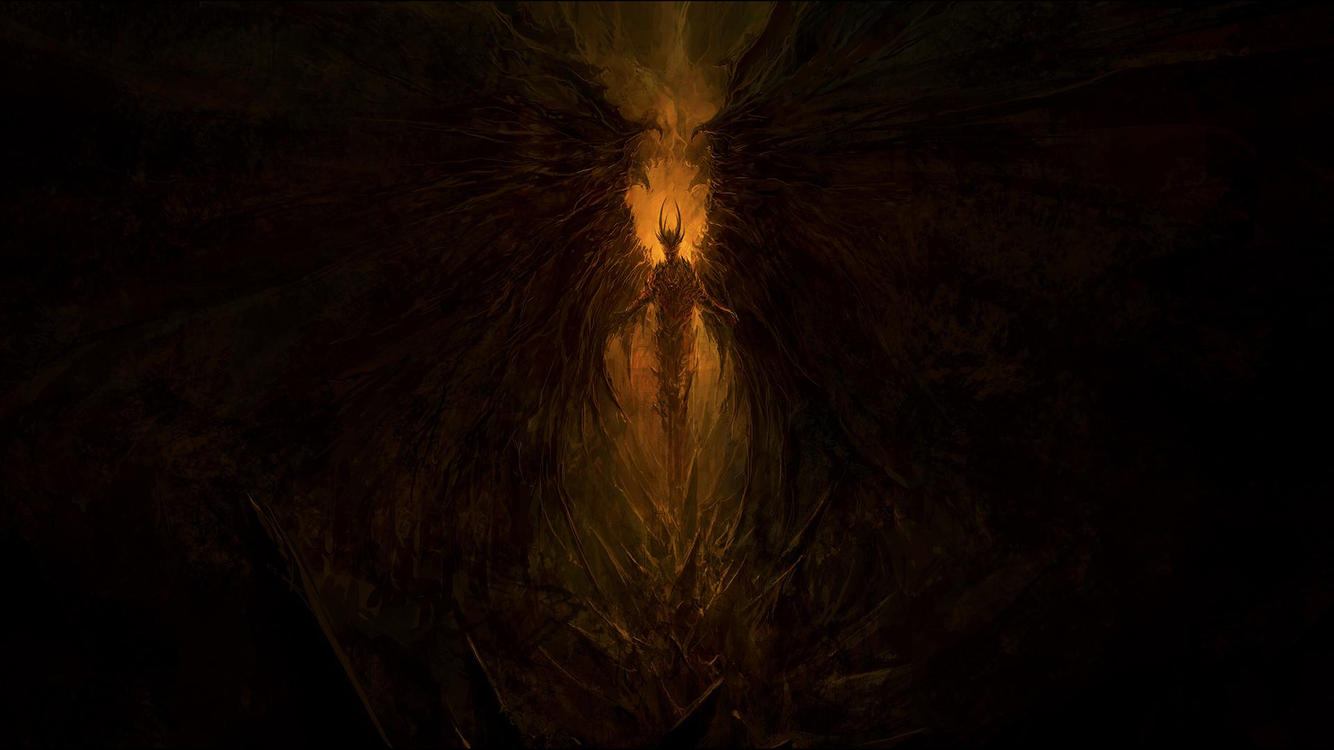 Dark Devil Wallpaper