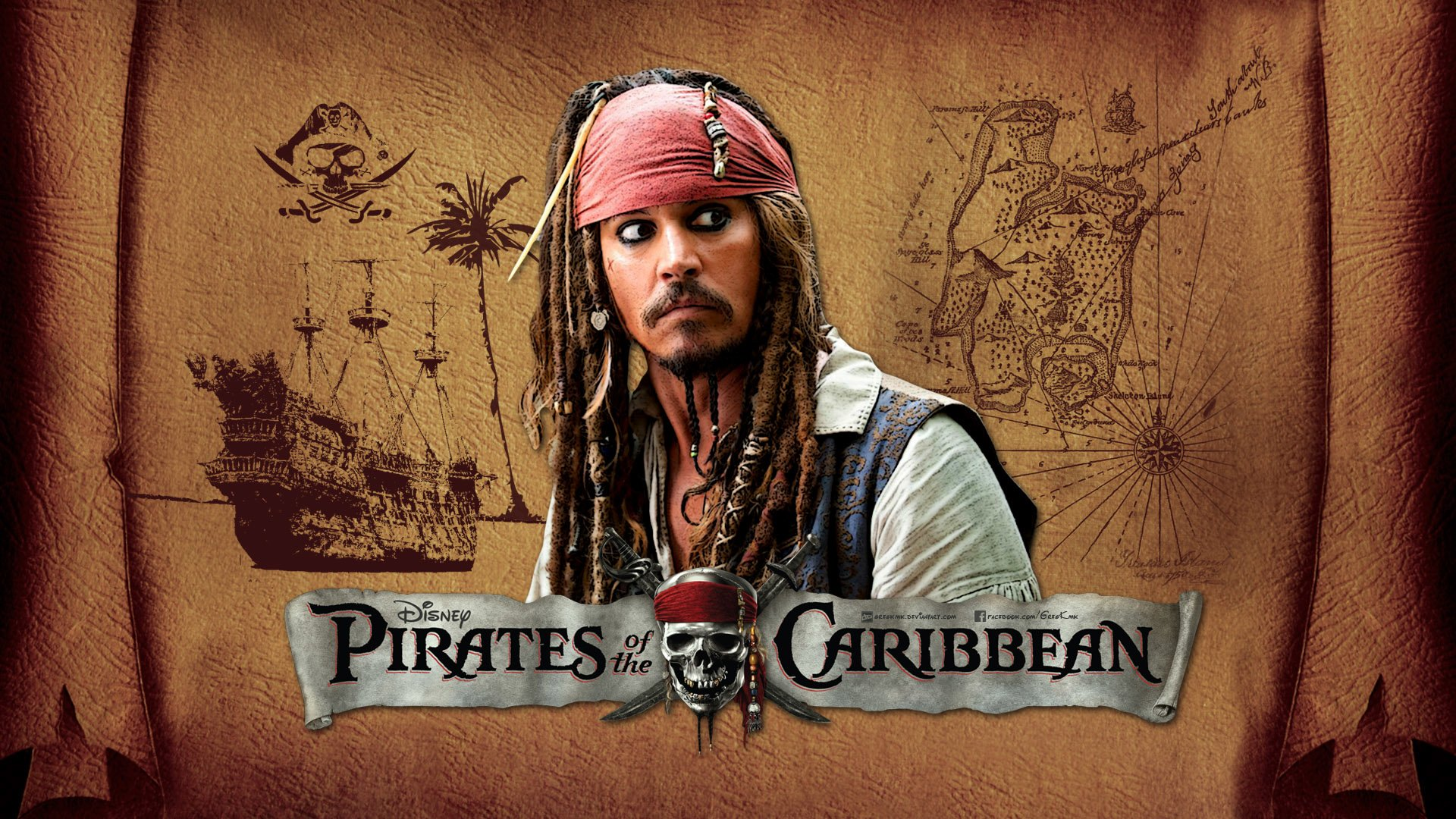 178 jack sparrow hd wallpapers | background images - wallpaper abyss