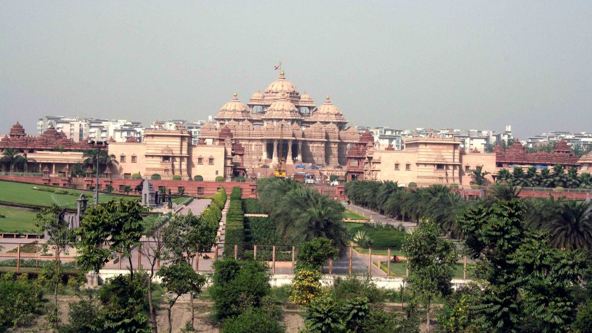 Akshardham temple hd wallpaper background image 1920x1080 id wallpapers id481044 thecheapjerseys Gallery