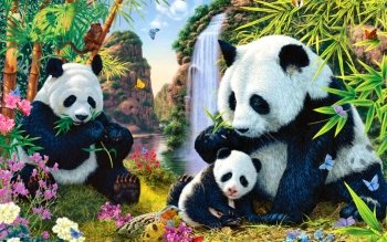 Animal - Panda Wallpapers and Backgrounds ID : 481130