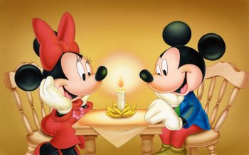 Cartoon - Mickey And Minnie Wallpapers and Backgrounds ID : 481759