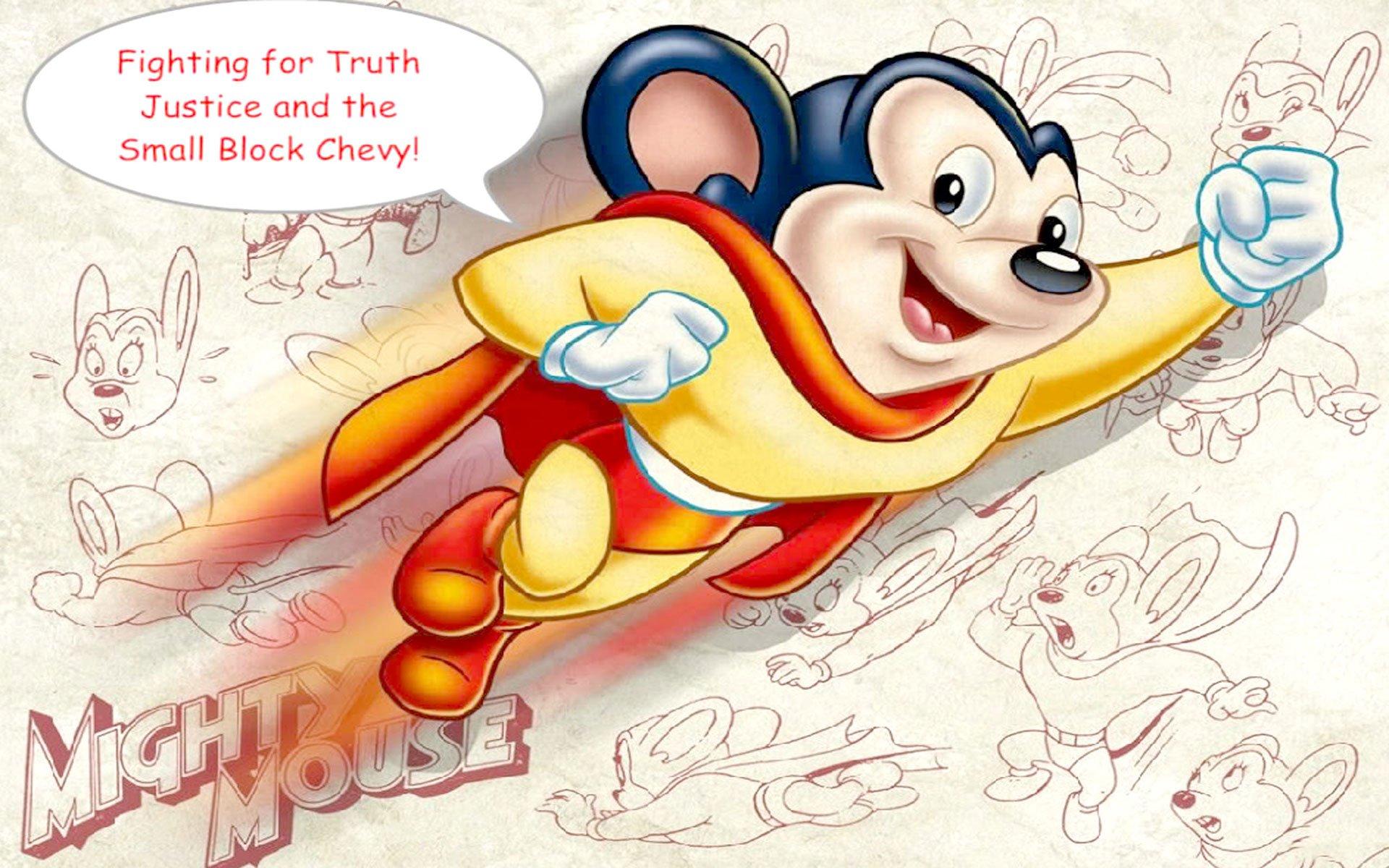 Mighty Mouse Fondo De Pantalla Hd Fondo De Escritorio