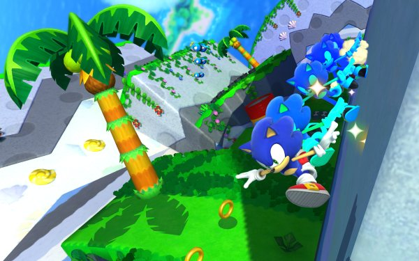 Video Game Sonic Lost World Sonic HD Wallpaper | Background Image