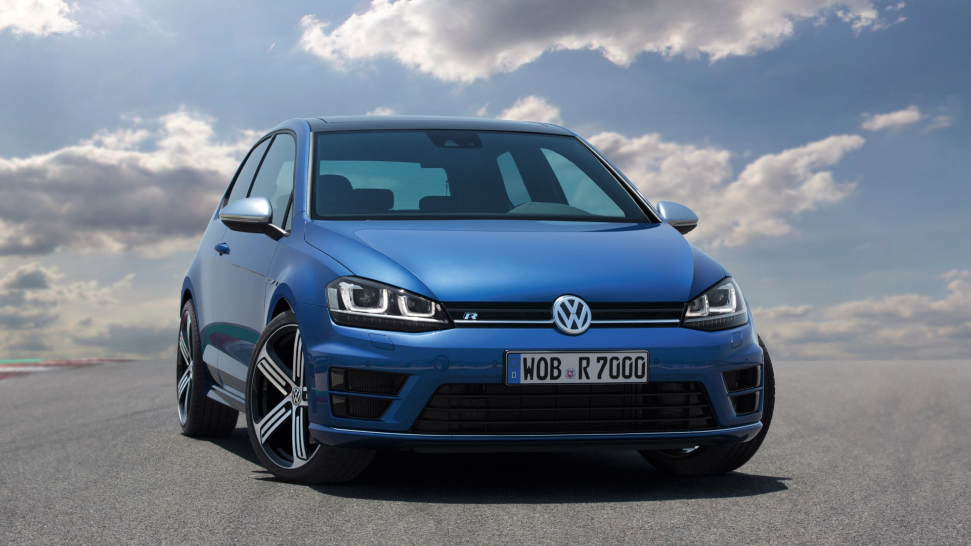 Volkswagen Golf R HD Wallpaper | Background Image ...