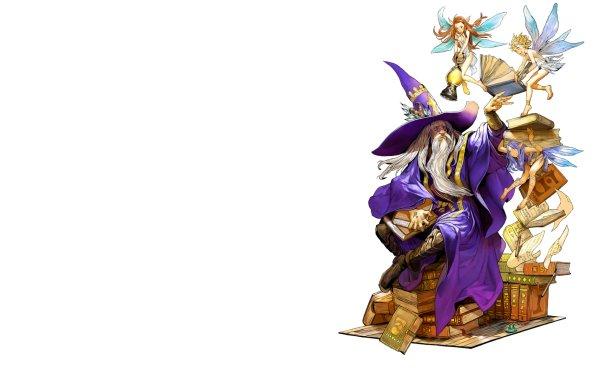 Video Game Fantasy Earth Zero Wizard Fairy Book Game Cute HD Wallpaper   Background Image