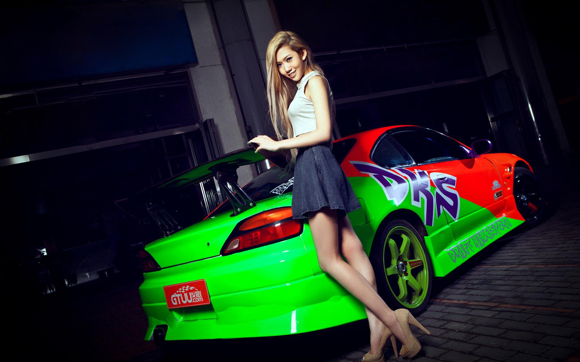 women, Model, Car HD Wallpapers / Desktop and Mobile