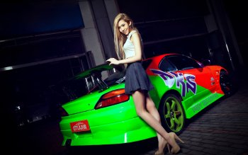 Fahrzeuge - Girls & Cars Wallpapers and Backgrounds ID : 486182