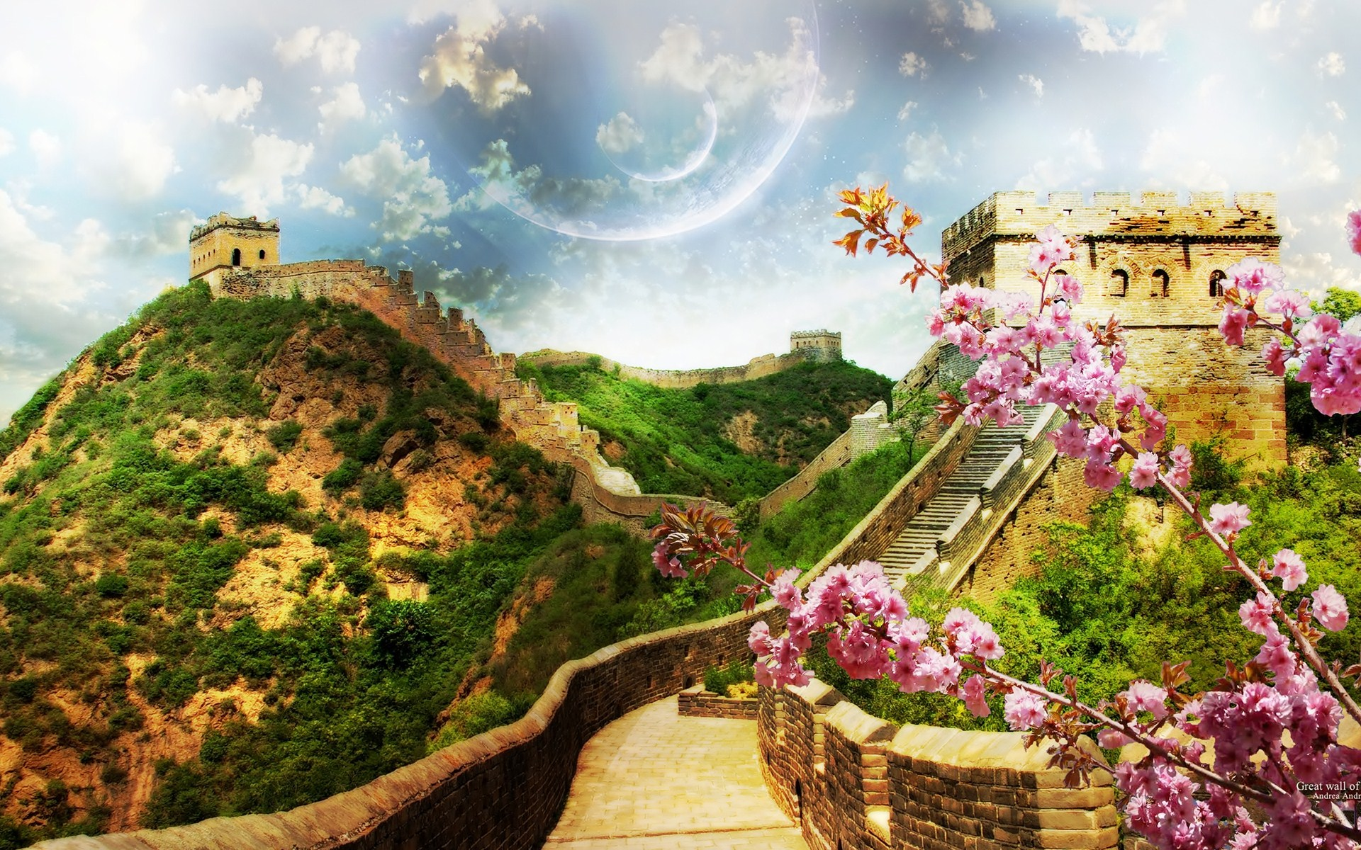 1 Great Wall Of China HD Wallpapers