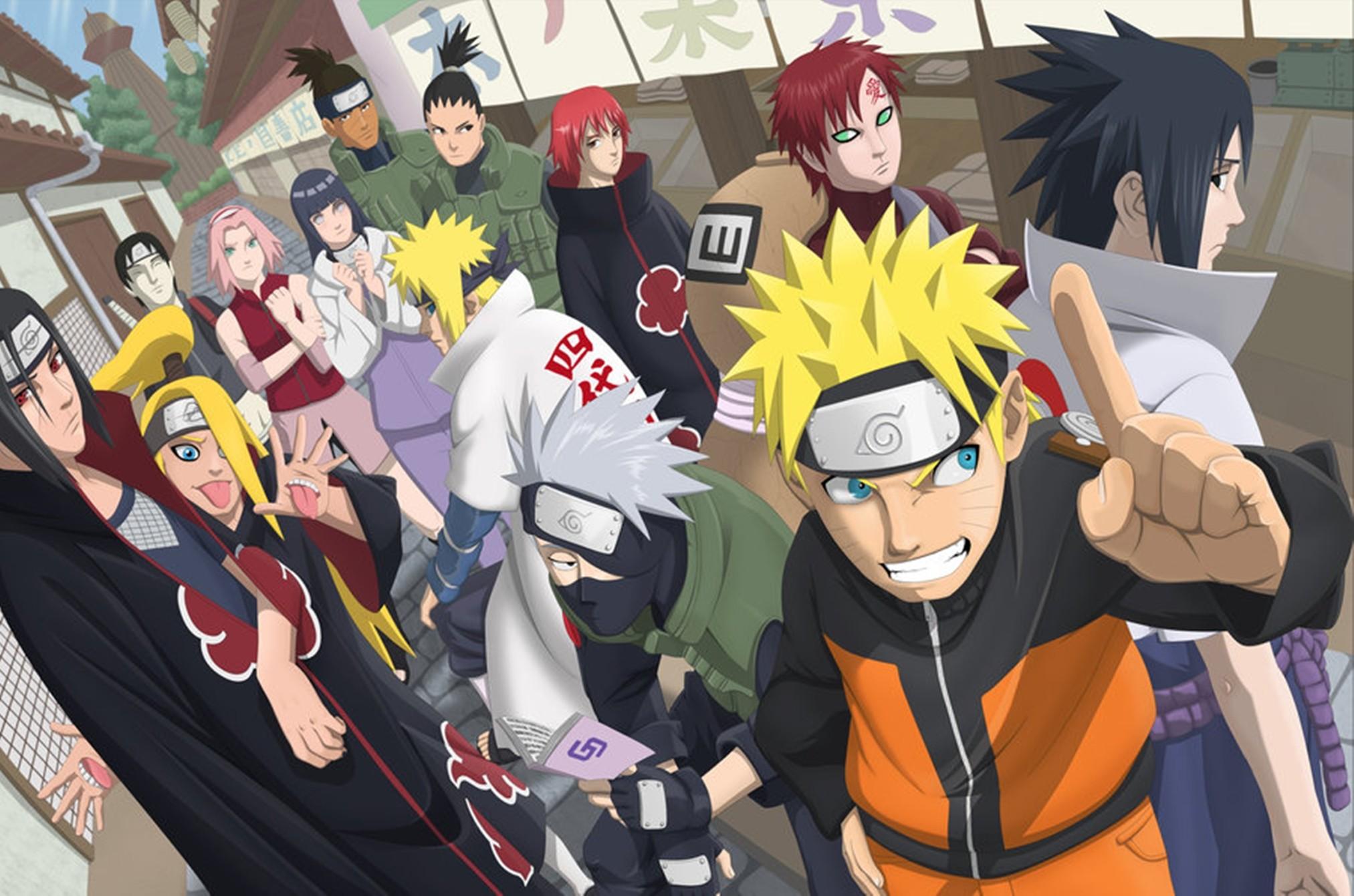 Naruto Shippuden Fond d'écran HD | Arrière-Plan | 2025x1341 | ID:487189 - Wallpaper Abyss