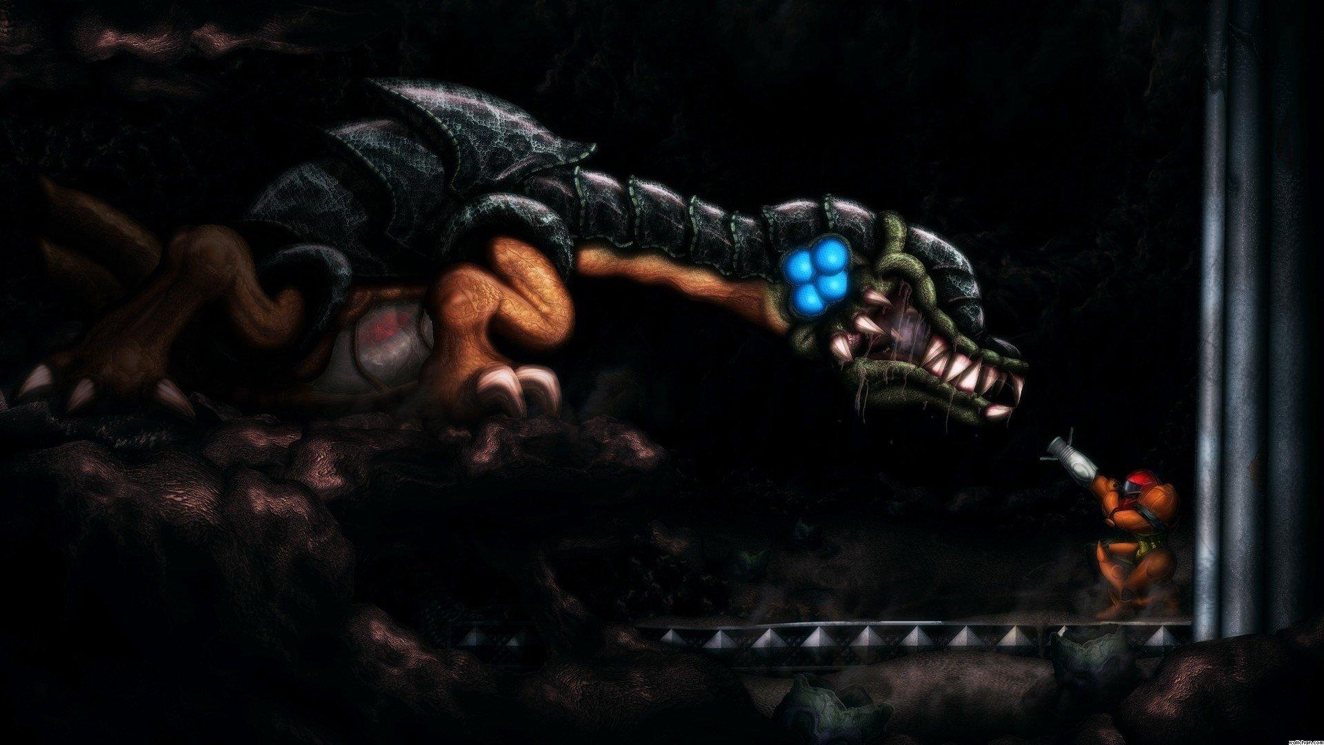 Video Game - Metroid II: Return of Samus  Samus Aran Metroid Metroid: Samus Returns Wallpaper