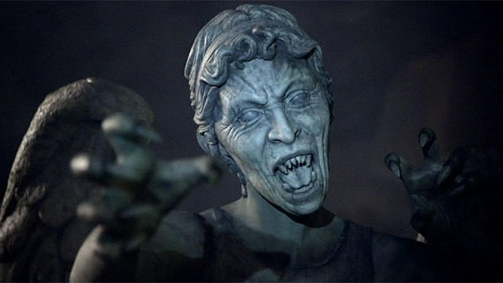 Weeping Angels Full HD Bakgrund and Bakgrund | 1920x1080 ...