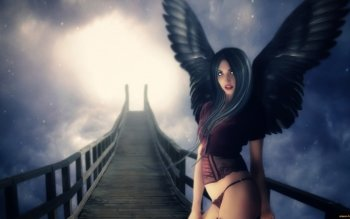 Fantasy - Angel Wallpapers and Backgrounds ID : 488470