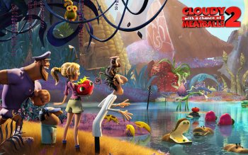 Película - Cloudy With A Chance Of Meatballs 2 Wallpapers and Backgrounds ID : 488719