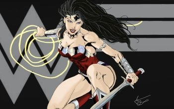 Comics - Wonder Woman Wallpapers and Backgrounds ID : 489216