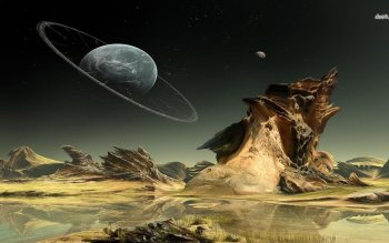 Science-Fiction - Landschaft Wallpapers and Backgrounds ID : 489266