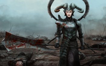 Fantasy - Women Warrior Wallpapers and Backgrounds ID : 489931