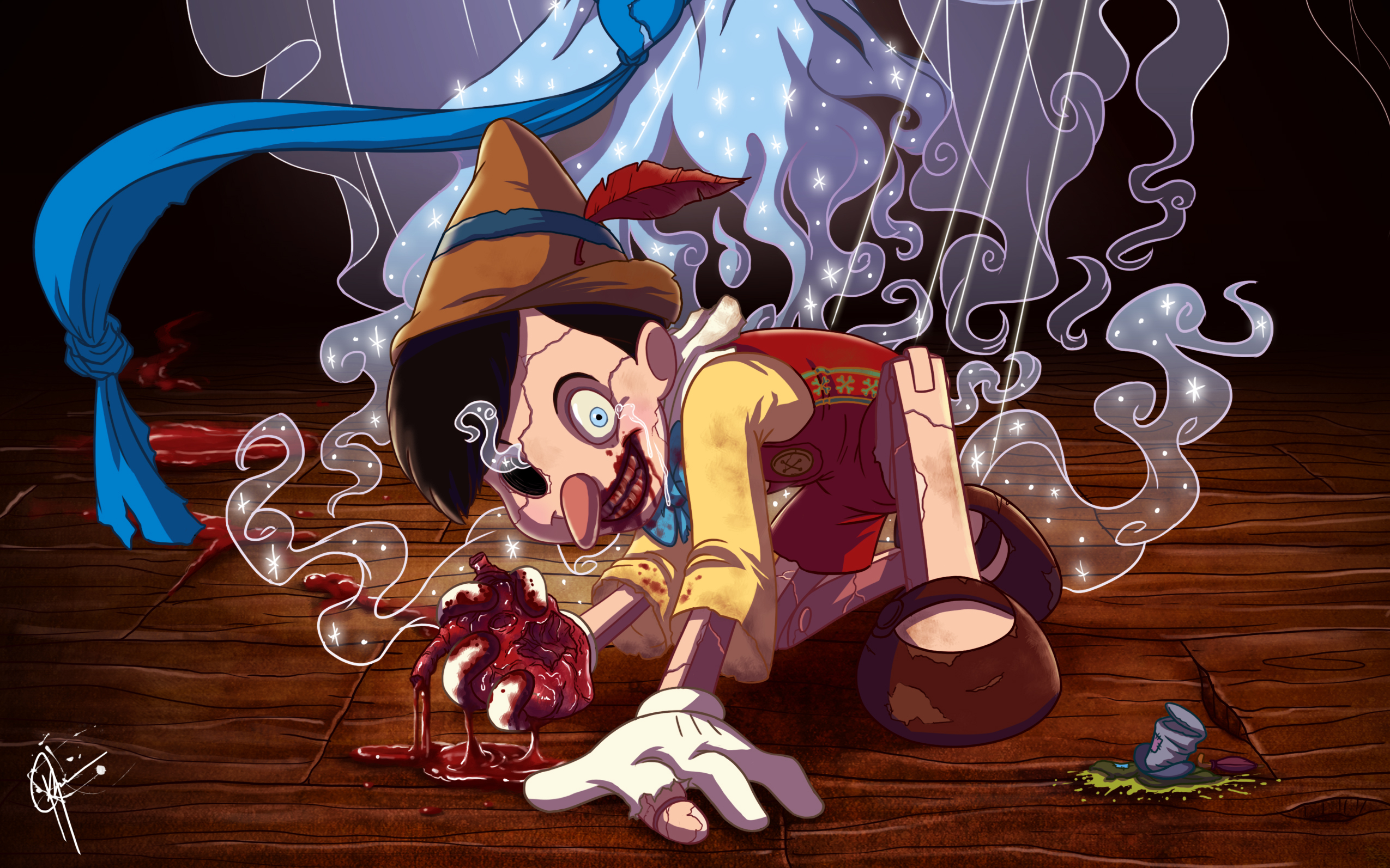 7 pinocchio hd wallpapers backgrounds   wallpaper abyss