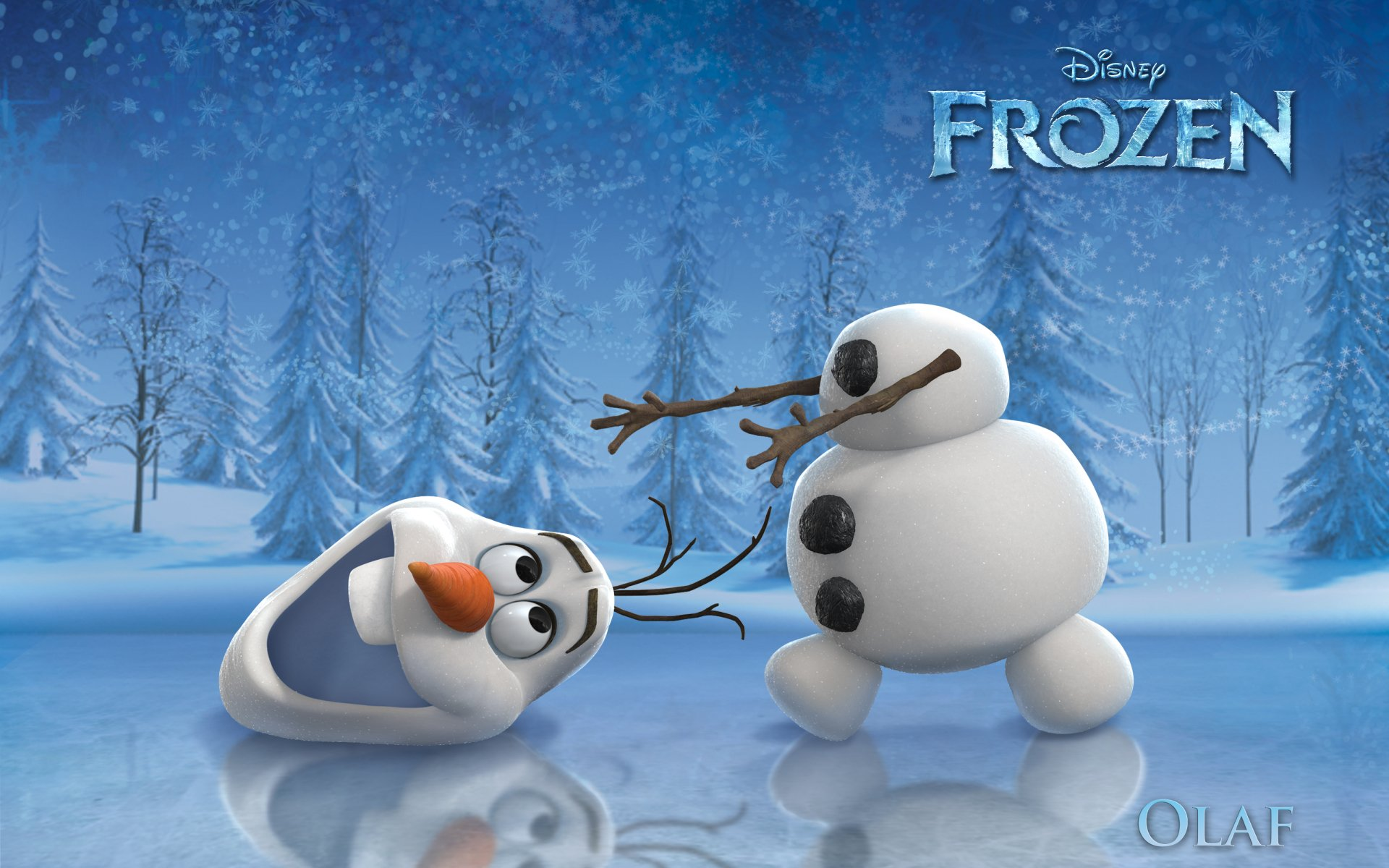 Movie - Frozen  Olaf (Frozen) Frozen (Movie) Wallpaper