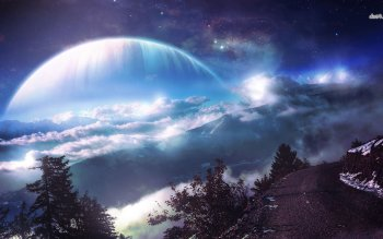 Science-Fiction - Landschaft Wallpapers and Backgrounds ID : 491398
