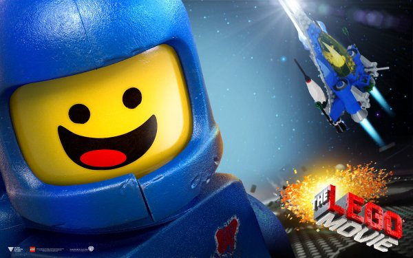Movie The Lego Movie Lego Benny Spaceship Space Text Logo HD Wallpaper   Background Image