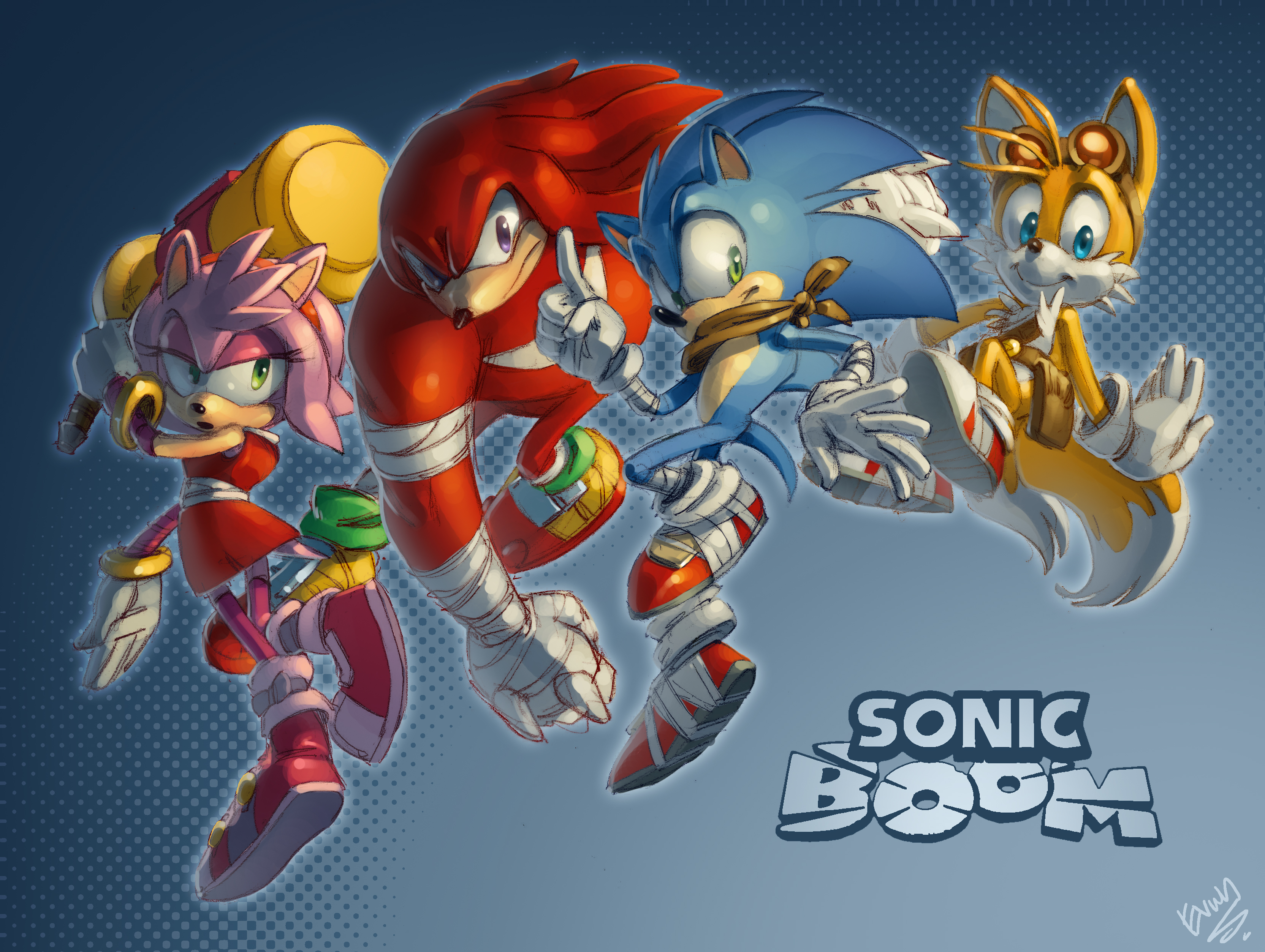 Sonic boom full hd wallpaper and background image 3329x2507 id tv show sonic boom sonic the hedgehog knuckles the echidna amy rose miles voltagebd Gallery