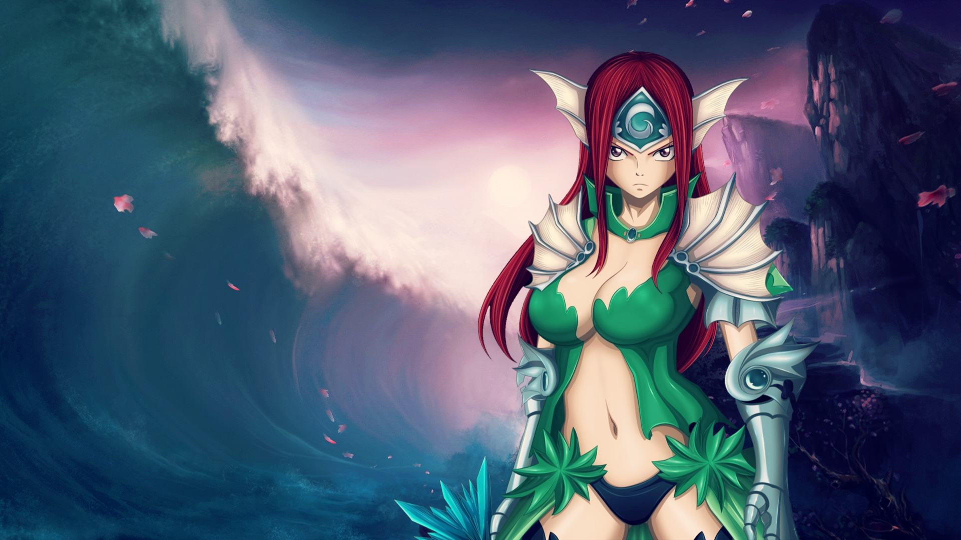 Erza Scarlet - Queen of the sea Computer Wallpapers, Desktop ...: https://wall.alphacoders.com/big.php?i=493357