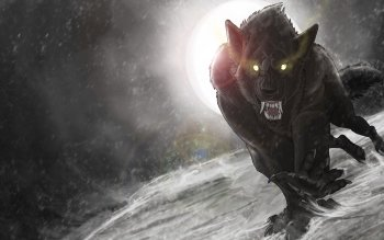Dark - Werewolf Wallpapers and Backgrounds ID : 493910