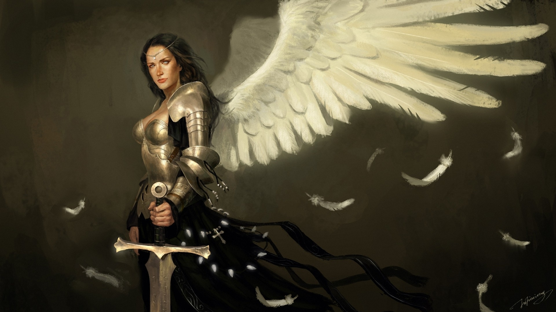 other wallpaper angel warrior - photo #45