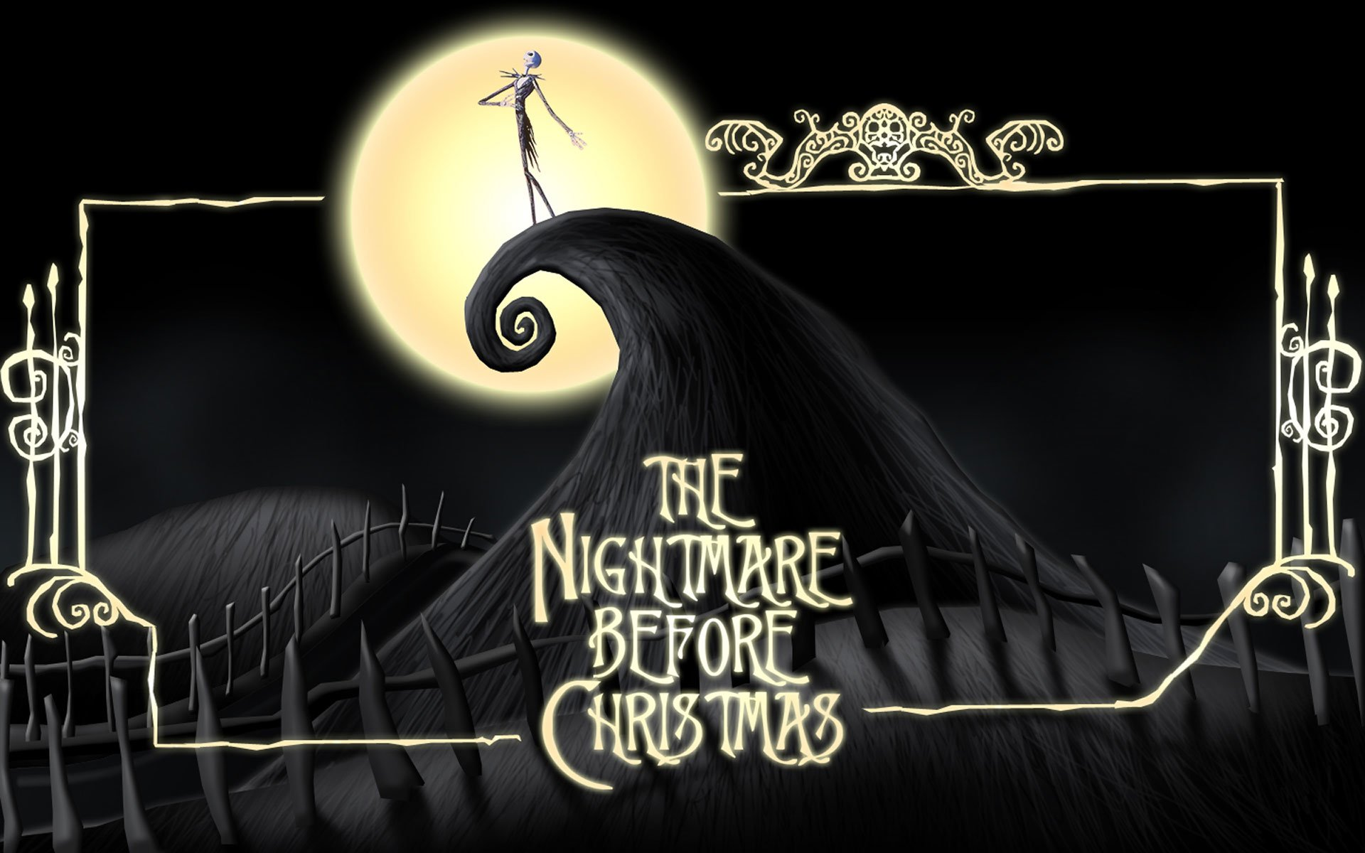38 The Nightmare Before Christmas HD Wallpapers | Background Images ...