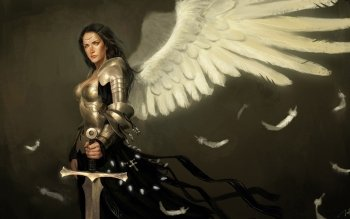 Fantasy - Angel Warrior Wallpapers and Backgrounds ID : 494183
