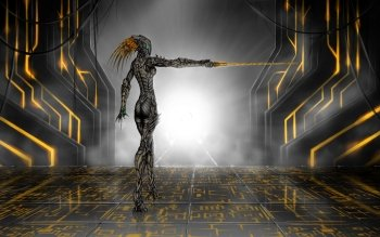 Sci Fi - Women Warrior Wallpapers and Backgrounds ID : 494206