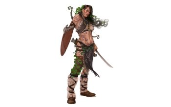 Fantasy - Women Warrior Wallpapers and Backgrounds ID : 496139