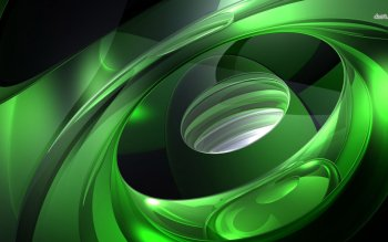Abstract - Green Wallpapers and Backgrounds ID : 496832