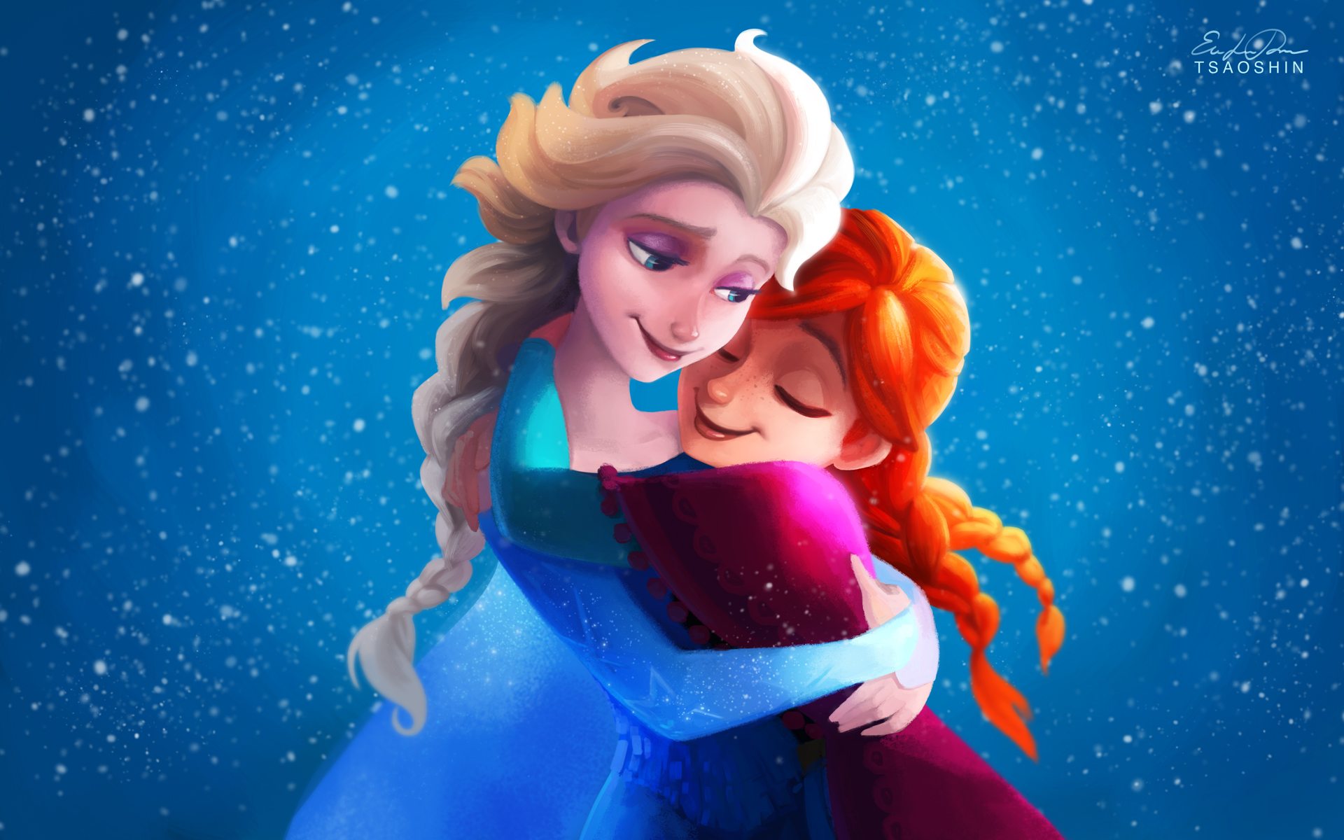 Movie - Frozen Anna (Frozen) Elsa (Frozen) Frozen (Movie) Wallpaper Frozen Wallpaper Hd Anna