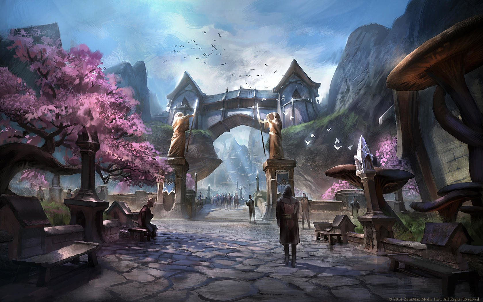 The Elder Scrolls Wallpaper: The Elder Scrolls Online Wallpaper And Background Image