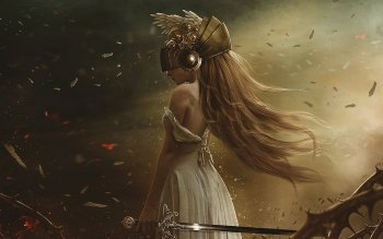 Fantasy - Women Warrior Wallpapers and Backgrounds ID : 498286