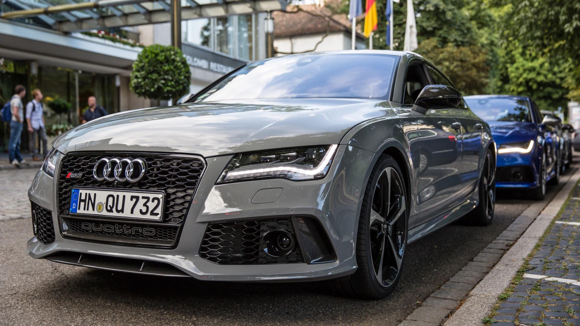 Audi Rs7 Full Hd Tapeta And Tło 1920x1080 Id 499010