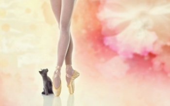 художественный - Ballerina Wallpapers and Backgrounds ID : 499611