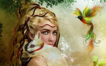 Fantasy - Frauen Wallpapers and Backgrounds ID : 499806