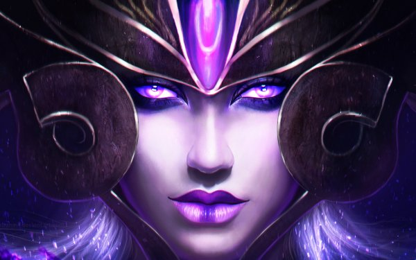 Video Game League Of Legends Syndra HD Wallpaper | Background Image