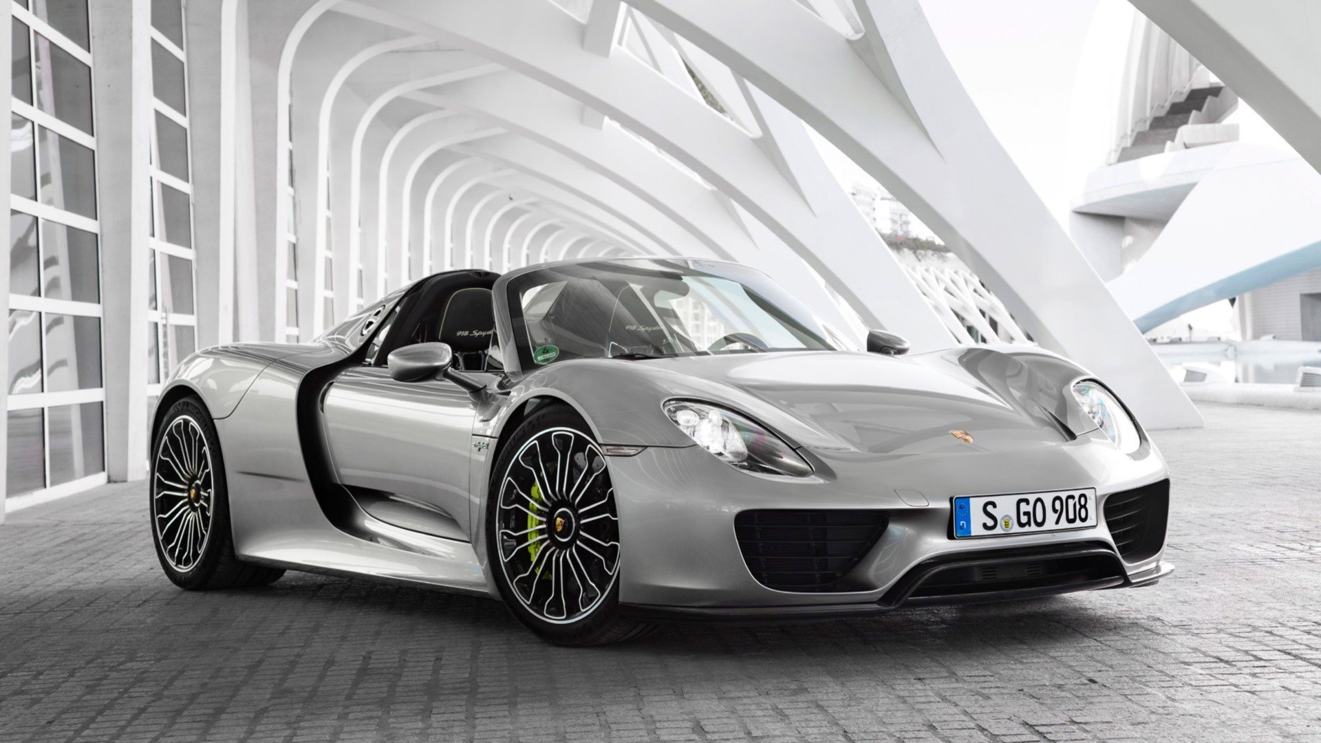 porsche 918 spyder full hd fond d 39 cran and arri re plan 1920x1080 id. Black Bedroom Furniture Sets. Home Design Ideas