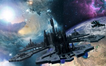 Science-Fiction - Space Station Wallpapers and Backgrounds ID : 501167