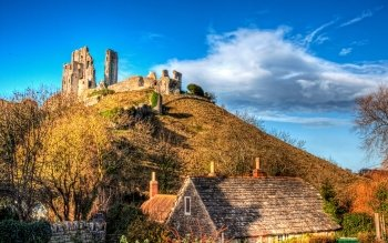 Man Made - Corfe Castle Wallpapers and Backgrounds ID : 501261