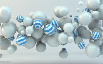 CGI - Balls Wallpapers and Backgrounds ID : 502076