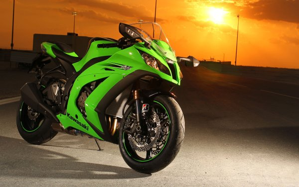 Vehicles Kawasaki Ninja Motorcycle HD Wallpaper | Background Image
