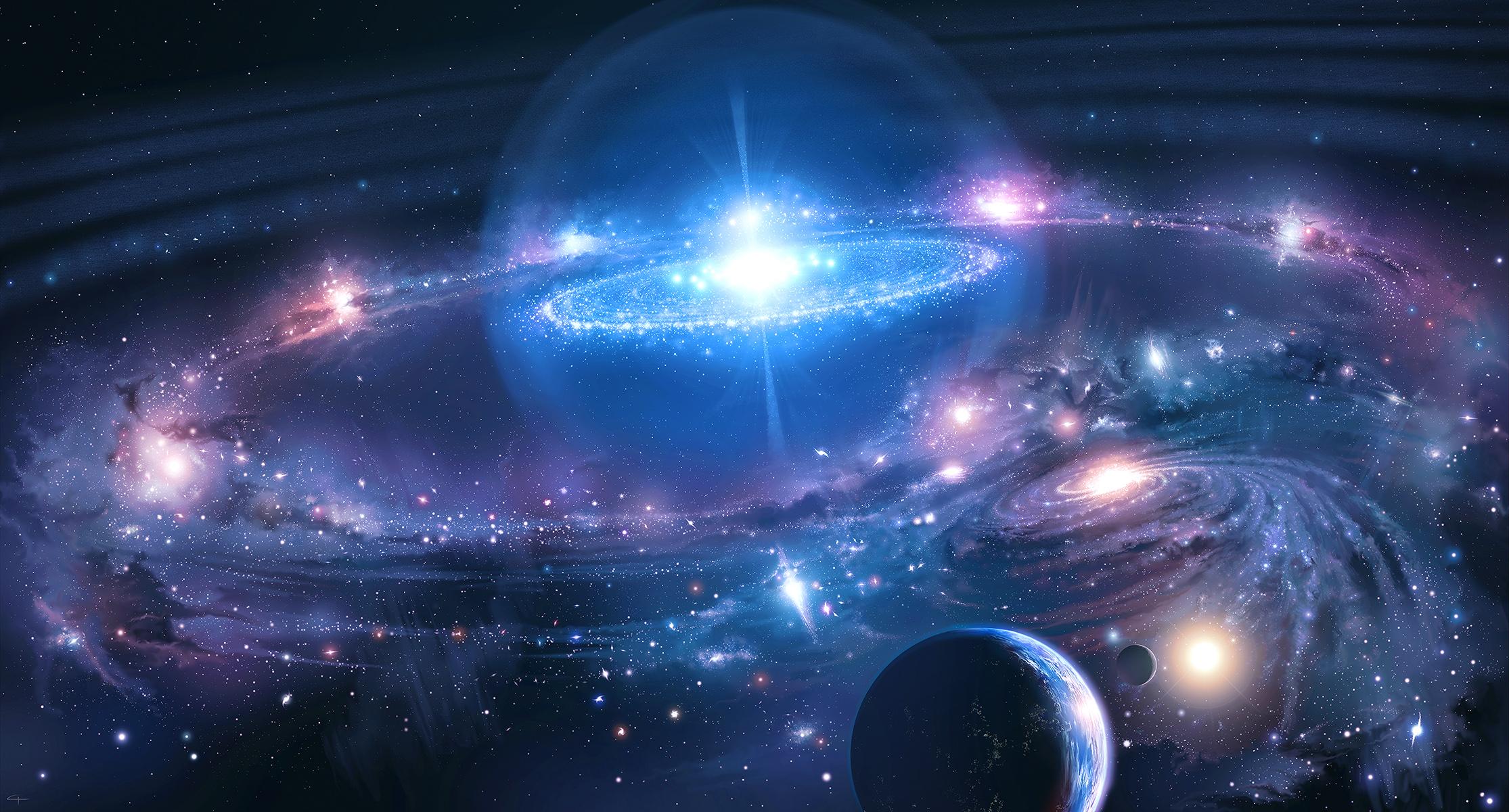 Galáxia Papel De Parede HD