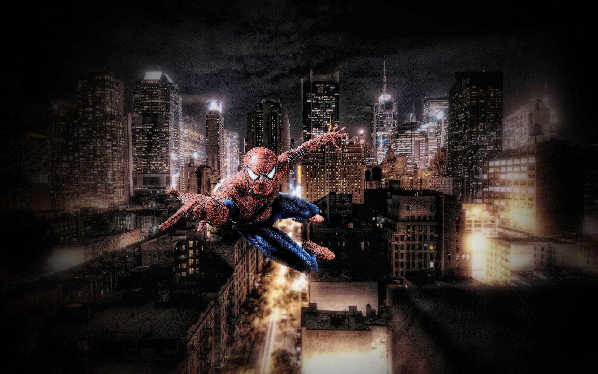 The amazing spiderman full hd fondo de pantalla and fondo for Fondos de spiderman