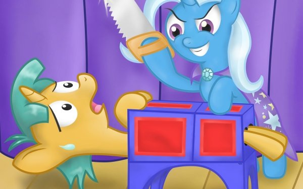 TV Show My Little Pony: Friendship is Magic My Little Pony Trixie Snails HD Wallpaper | Background Image